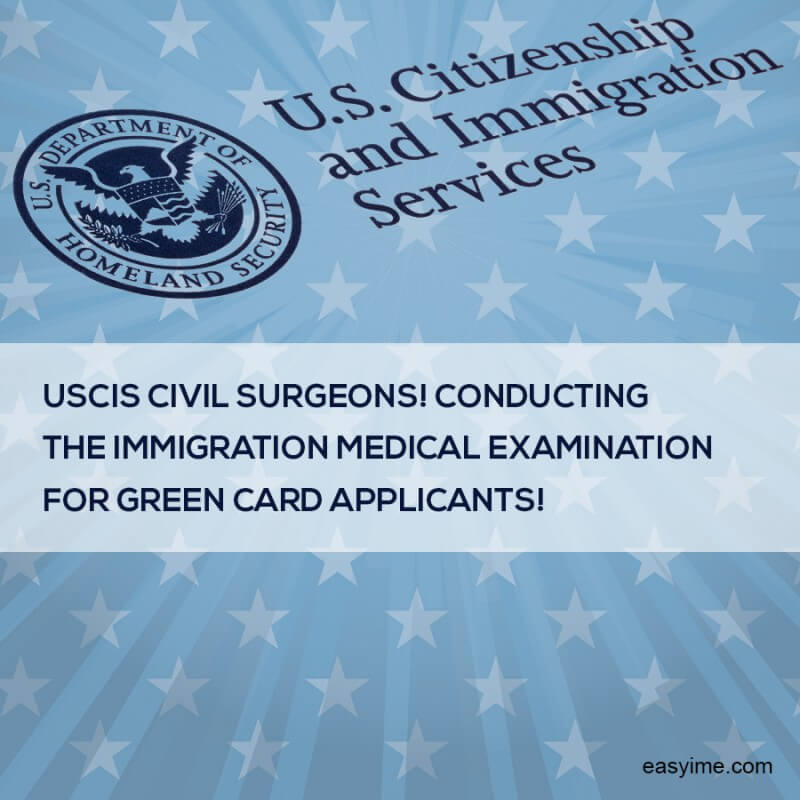 Uscis Civil Surgeons Conducting The Immigration Medical Examination