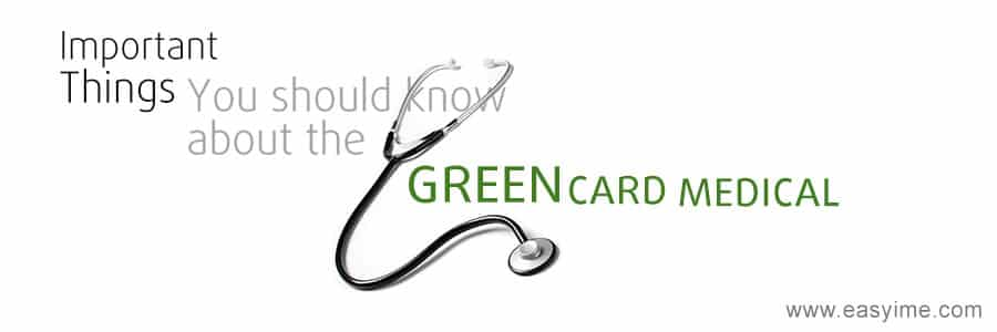 Green card medical exam